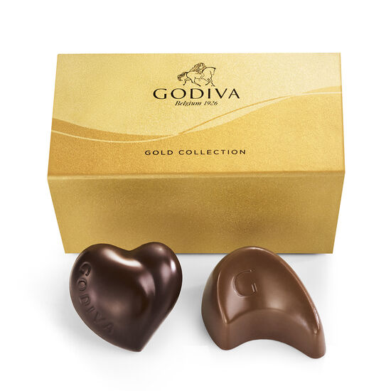 Assorted Chocolate Gold Favor, 2 pc. image number null