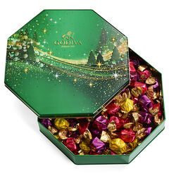 Holiday G Cube Truffle Tin, 50 pc.
