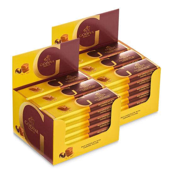 Barre de chocolat au lait au caramel, emballage de 48, 43 g chacune image number null