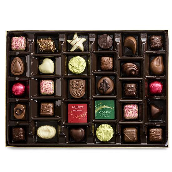 Collection de chocolats scintillants des fêtes de série limitée, 32 mc. image number null