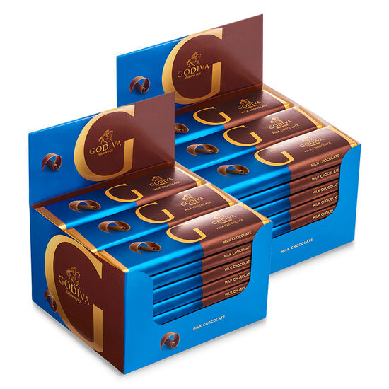 Milk Chocolate Bar, Pack of 48, 43 g each image number null