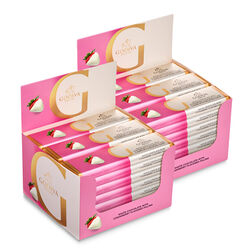White Chocolate Strawberry Bar, Pack of 48, 43 g each