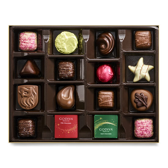 Limited Edition Sparkle Holiday Chocolate Collection, 16 pc. image number null