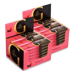 Barre de chocolat noir à la framboise, emballage de 48, 43 g chacune