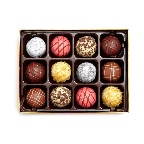 Boîte-cadeau de truffes-desserts Pâtisserie, 12 mc. image number null
