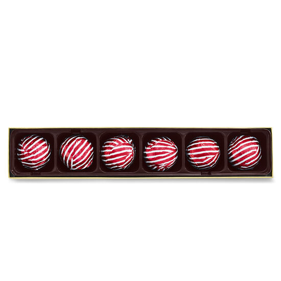 Limited Edition Candy Cane Truffle Flight, 6 pc. image number null