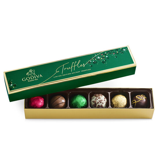 Limited Edition Holiday Truffle Flight, 6 pc. image number null