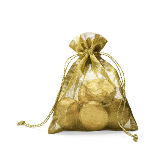 Milk Chocolate Gold Coin Bag, 8 pc. image number null