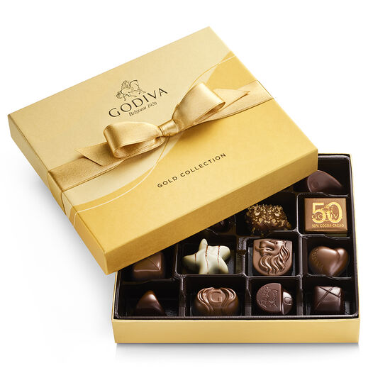 Godiva 19pc gold gift box 30% off plus additional 15% and free ship