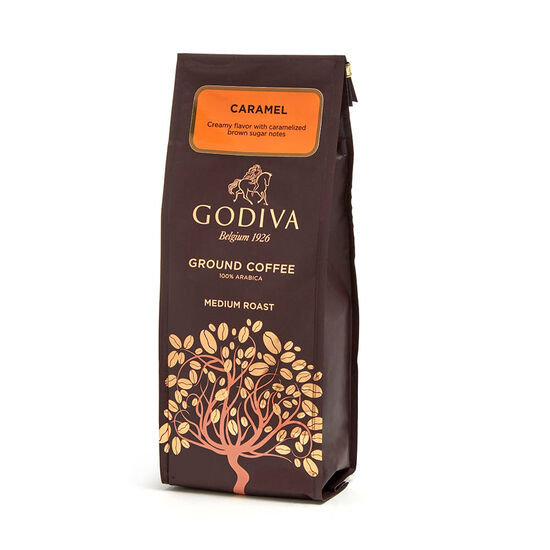 Caramel Coffee, Ground, 10 oz. image number null