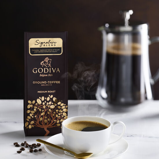 Signature Blend Ground Coffee, 10 oz. image number null