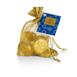 Milk Chocolate Gold Coin Bag, 8 pc.