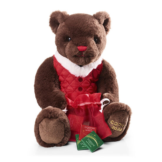 Limited Edition 2020 Holiday Plush Bear image number null