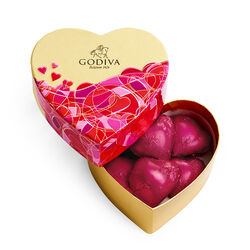 Valentine's Day Mini Heart Gift Box, 6pc.