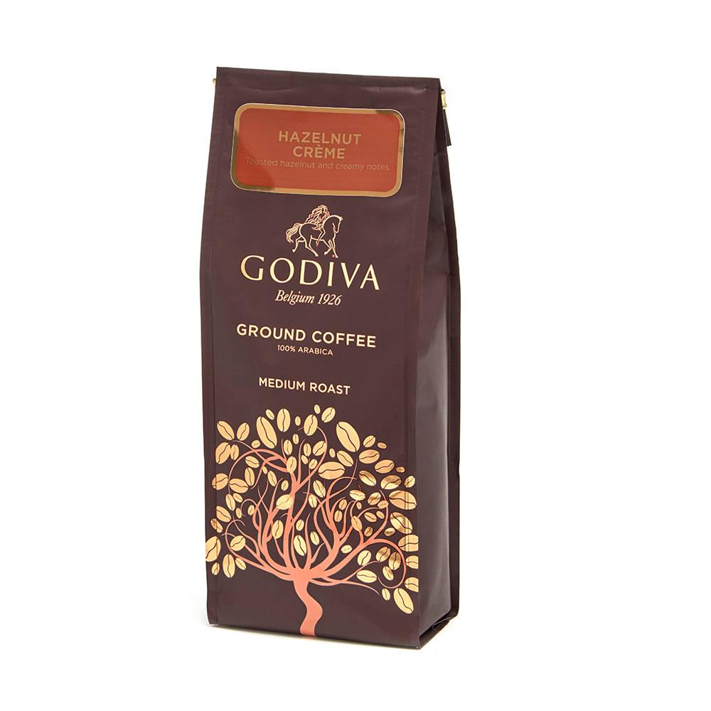 Godiva Hazelnut Creme Ground Coffee